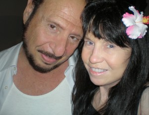 Denny and Biddy in Waikiki
