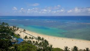 Hilton Village PH view of Waikiki Beach