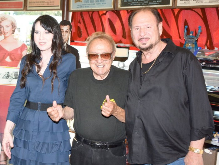 Biddy Schippers, George Barris and Denny Randell