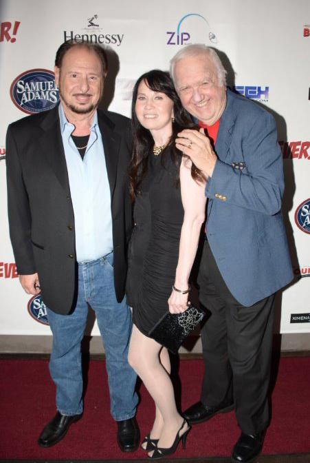 Denny Randell, Biddy Schippers and Chuck McCann at Bourbon DTLA