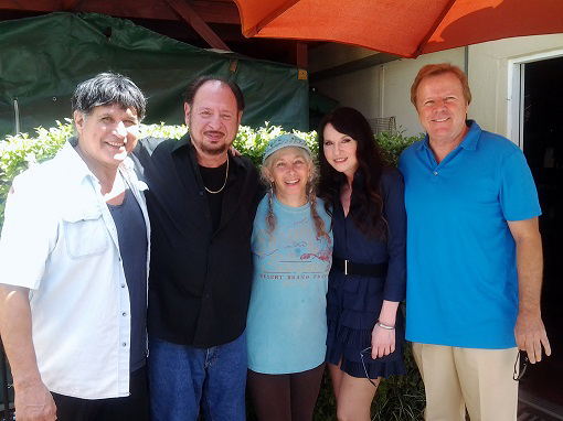 John Ferrari, Denny Randell, Pepper Jay, Biddy Schippers and Steve Nave at ActorsE Studio