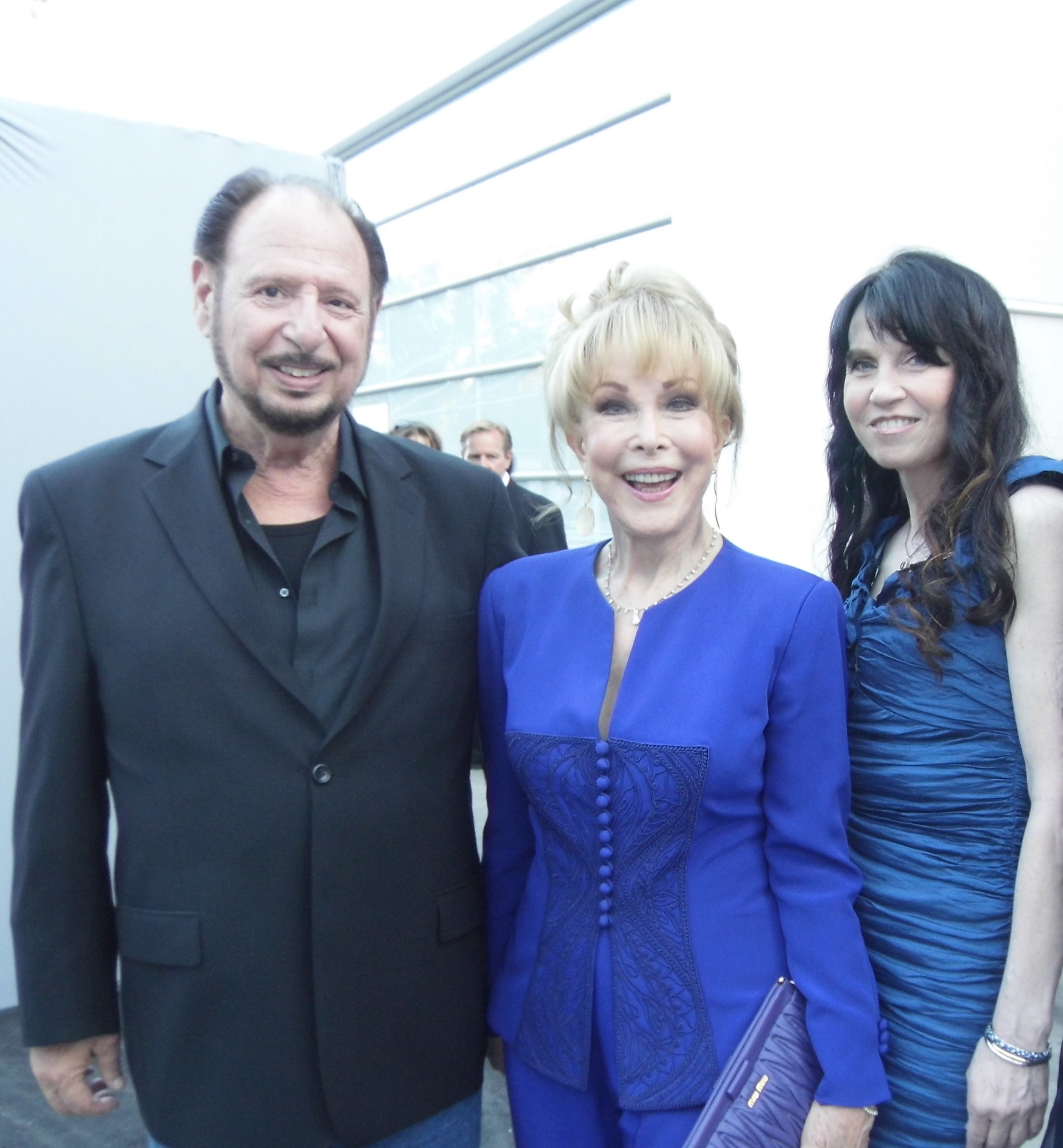 Denny Randell, Barbara Eden and Biddy Schippers at the Hollywood Bowl 2014 Hall Of Fame Red Carpet Event